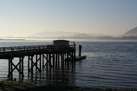 Waterfront Dock, Tofino