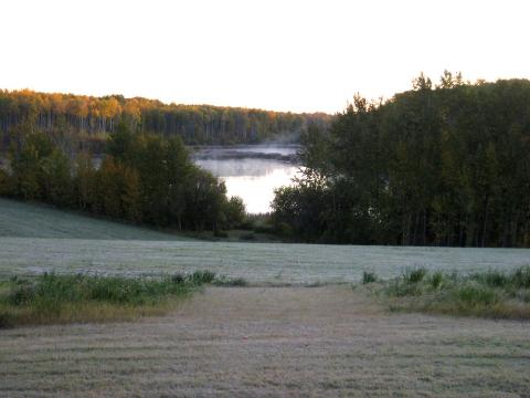 Farm with lake for sale