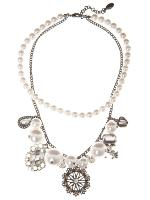 Queens Country Pearl Charm Nec...