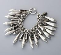 Bullet Spike Bracelet by Betty...